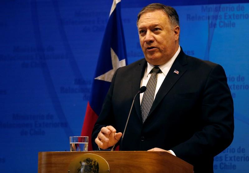 FILE PHOTO - U.S. Secretary of State Mike Pompeo visits Chile