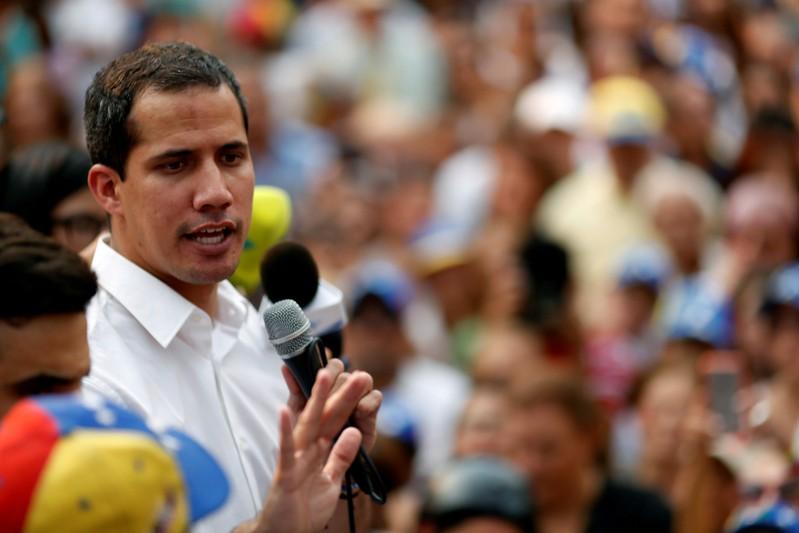 FILE PHOTO: Protest against Venezuelan President Nicolas Maduro's government in Caracas