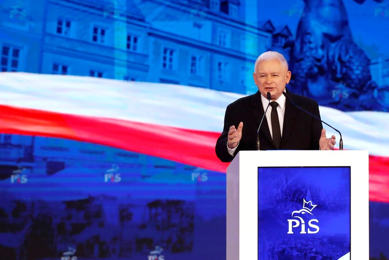 FILE PHOTO: Poland's ruling Law and Justice party convention in Warsaw