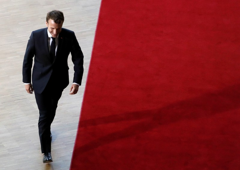 FILE PHOTO: Extraordinary European Union leaders summit in Brussels
