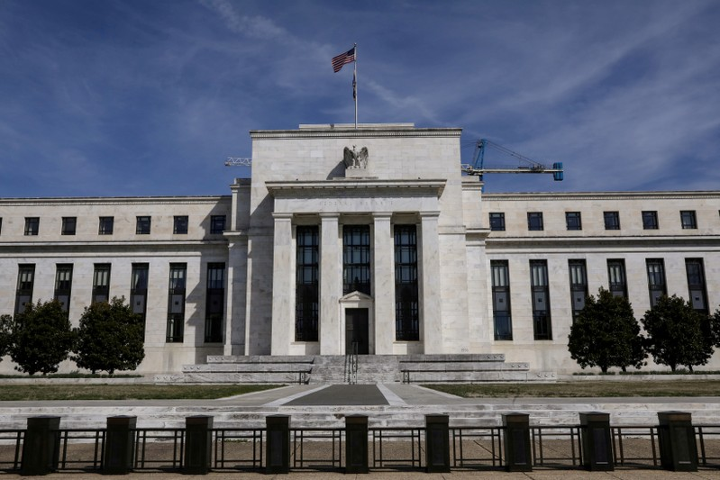 FILE PHOTO: FILE PHOTO: FILE PHOTO: The Federal Reserve Board building on Constitution Avenue is pictured in Washington
