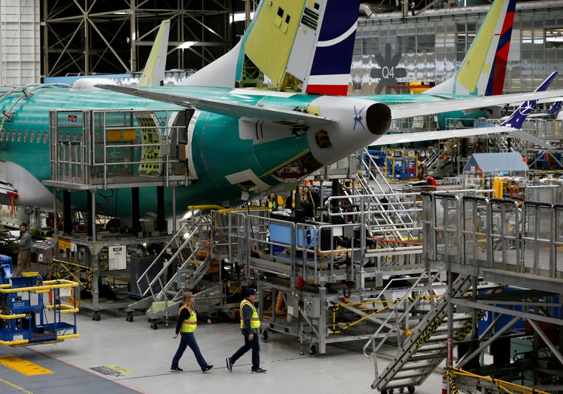 Trump urges Boeing to fix, 'rebrand' grounded 737 Max planes