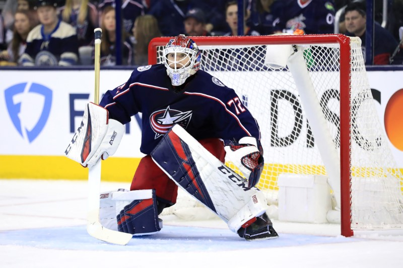 FILE PHOTO: NHL: Stanley Cup Playoffs-Tampa Bay Lightning at Columbus Blue Jackets