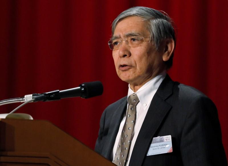 FILE PHOTO: BOJ Governor Kuroda attends the Paris Europlace International Financial Forum in Tokyo