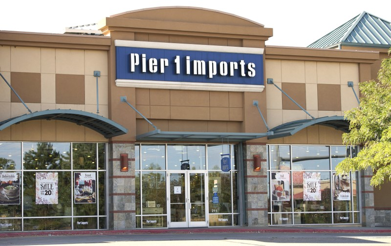 FILE PHOTO:  The Pier 1 Imports store is seen in Broomfield