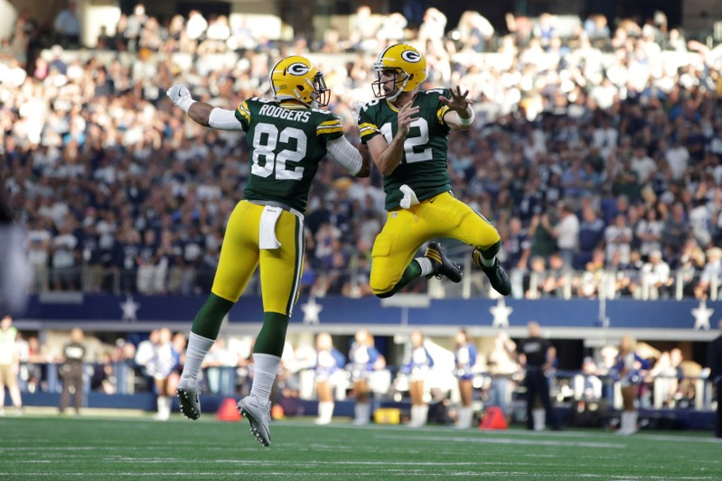 FILE PHOTO: NFL: Green Bay Packers at Dallas Cowboys