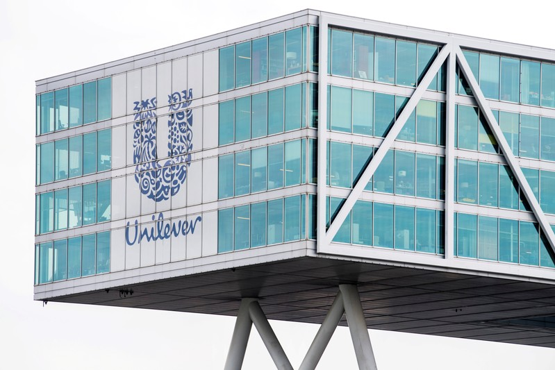 FILE PHOTO: Unilever headquarters in Rotterdam