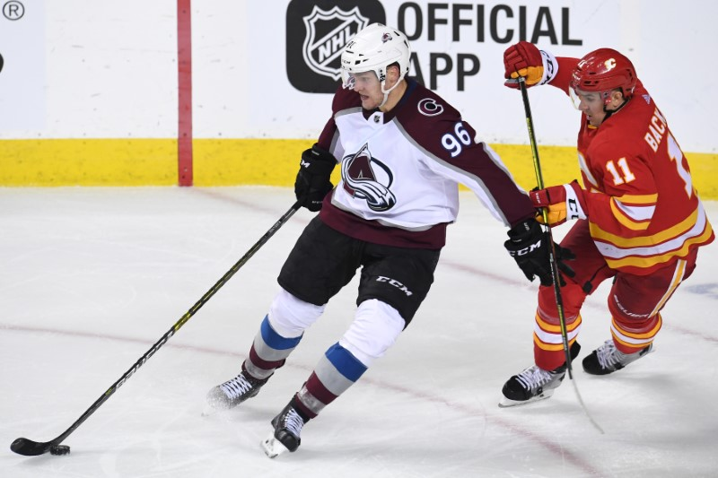 Colorado Avalanche oust Calgary Flames from National Hockey League playoffs with 5-1 win