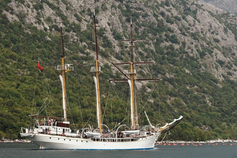 Montenegrin naval training ship