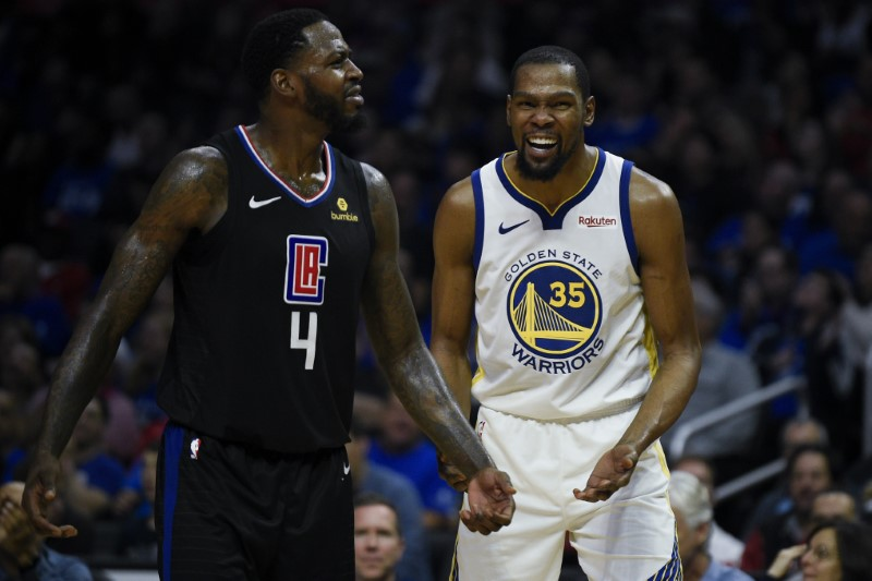 NBA: Playoffs-Golden State Warriors at Los Angeles Clippers