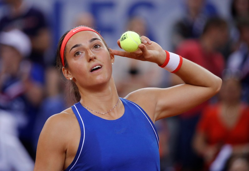 Fed Cup - World Group Semi-Final - France v Romania
