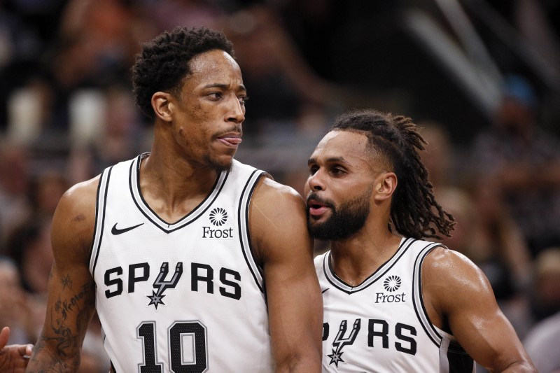 NBA: Playoffs-Denver Nuggets at San Antonio Spurs