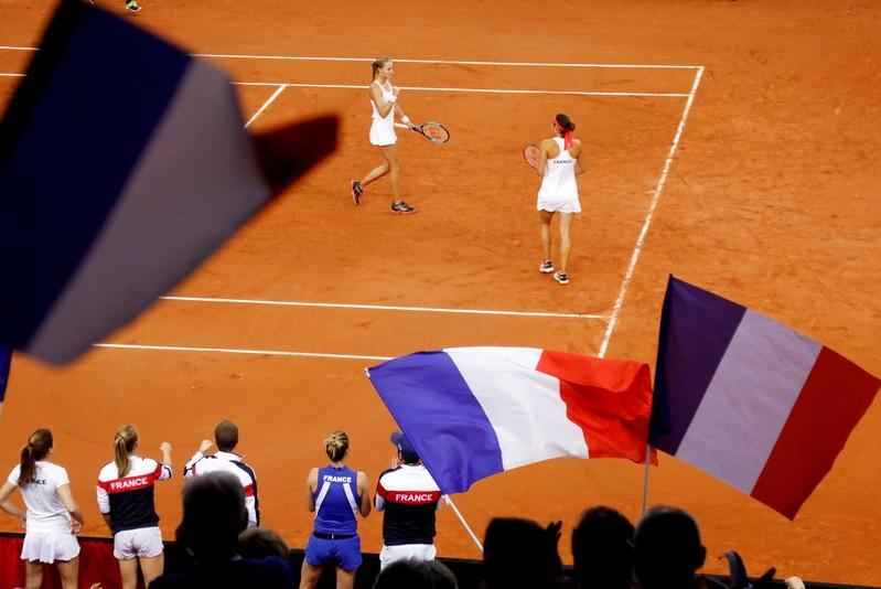 Fed Cup - World Group Semi-Final - France v Romania