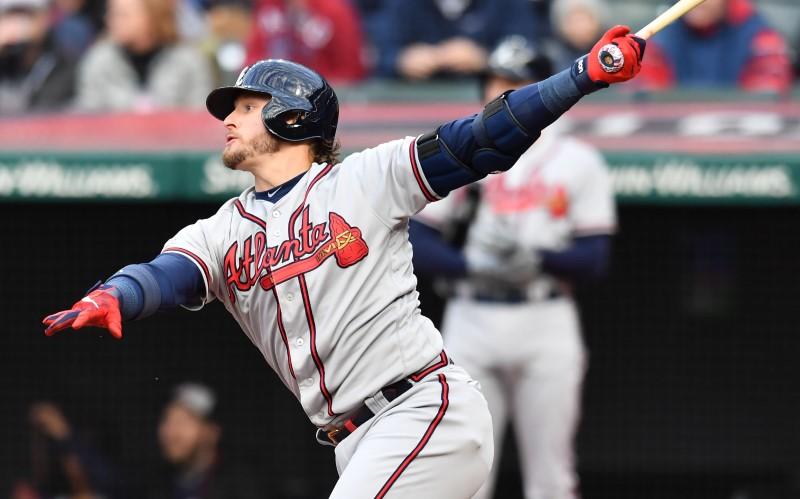 MLB: Atlanta Braves at Cleveland Indians