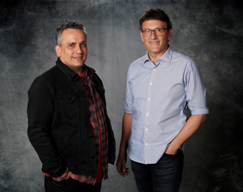 Directors Joe and Anthony Russo pose for a portrait while promoting the film
