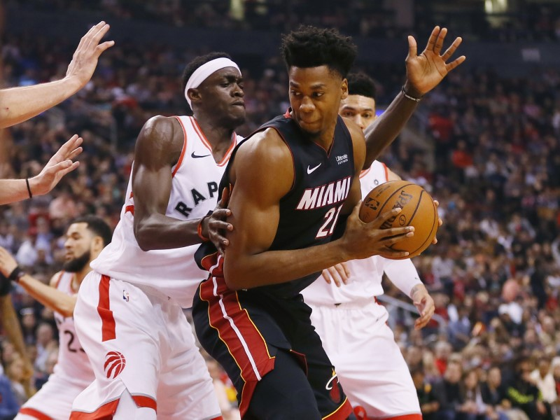 FILE PHOTO: NBA: Miami Heat at Toronto Raptors