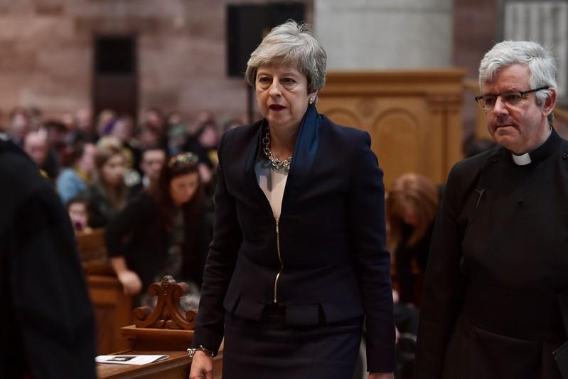 Funeral of journalist Lyra McKee in Belfast