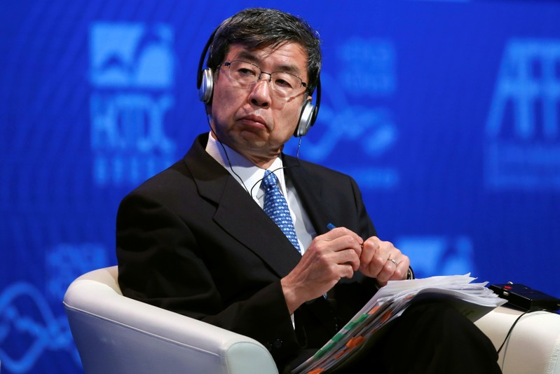 FILE PHOTO: Asian Development Bank President Takehiko Nakao attends the Asian Financial Forum in Hong Kong