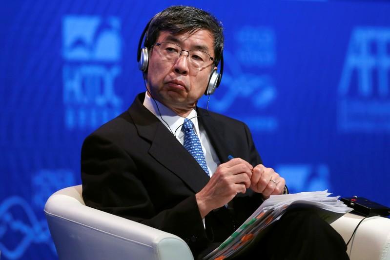 FILE PHOTO: Asian Development Bank President Takehiko Nakao attends the Asian Financial Forum in Hong Kong