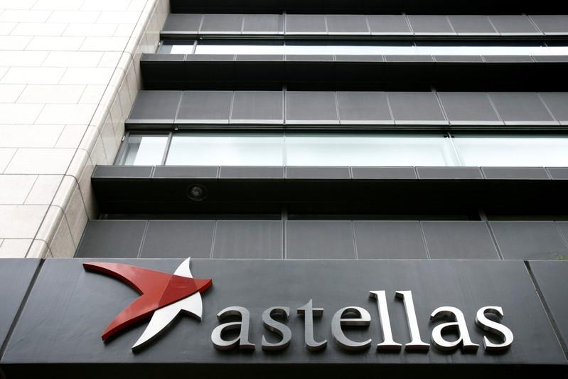 Headquarters of Astellas Pharma Inc. is seen in Tokyo