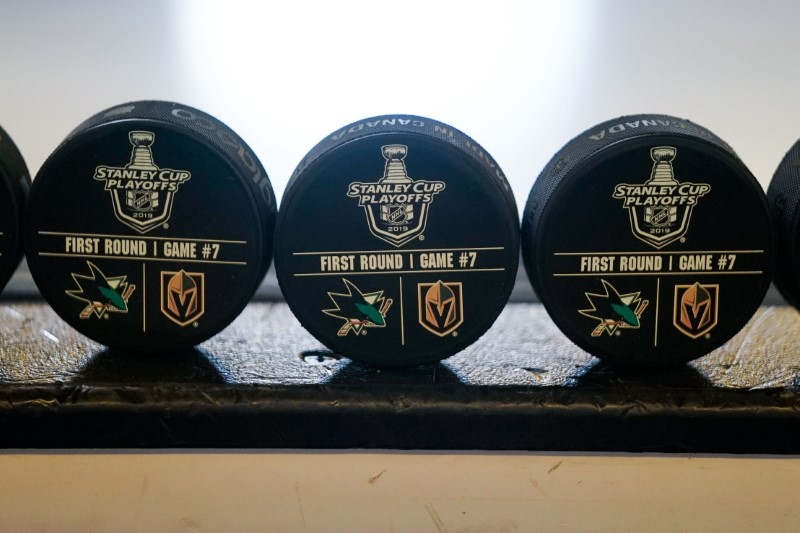 NHL: Stanley Cup Playoffs-Vegas Golden Knights at San Jose Sharks