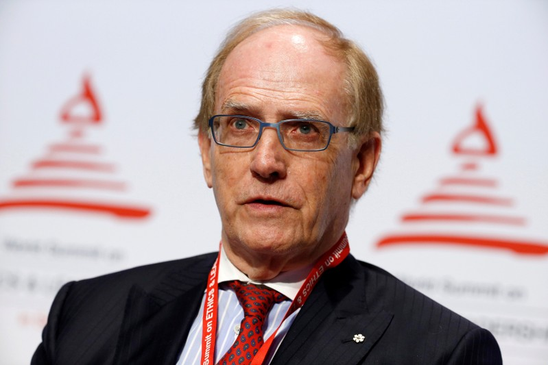 FILE PHOTO: WADA Investigation team member McLaren attends the World Summit on Ethics and Leadership in Sports in Zurich