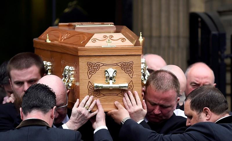 FILE PHOTO: Funeral of journalist Lyra McKee in Belfast