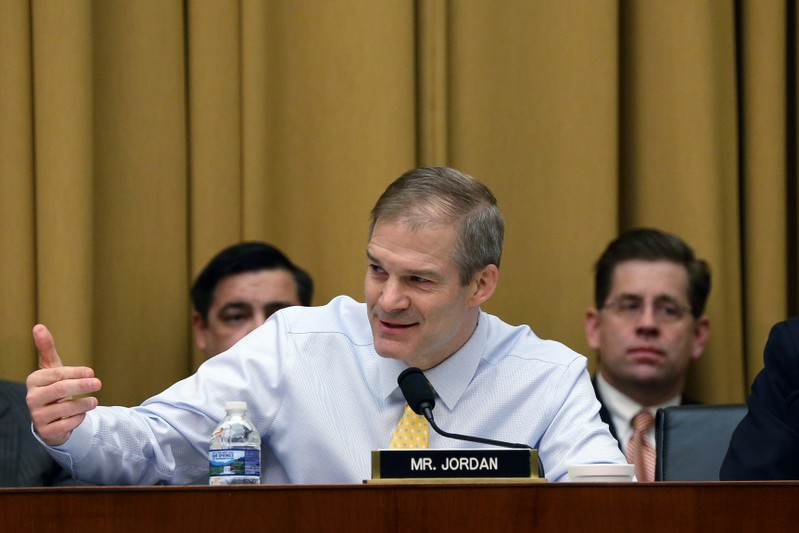 The U.S. House of Representatives Judiciary Committee debates and votes on subpoenas for Special Counsel Robert Mueller's full unredacted report in Washington