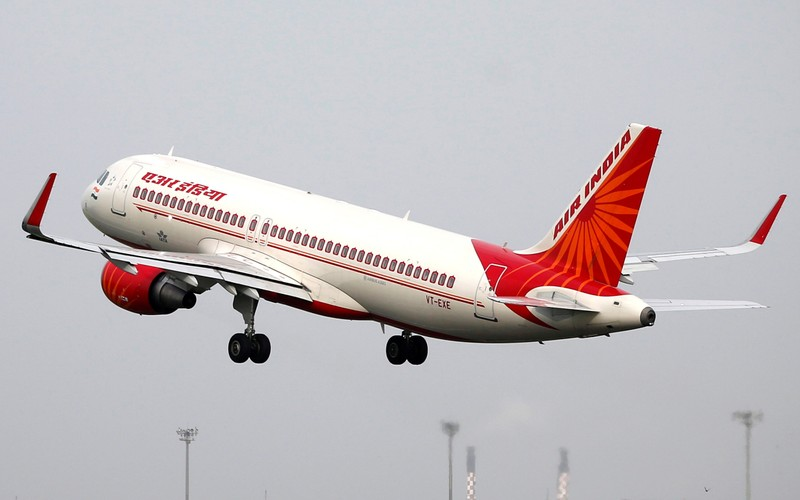 FILE PHOTO - An Air India Airbus A320 aircraft takes off from the Sardar Vallabhbhai Patel International Airport in Ahmedabad