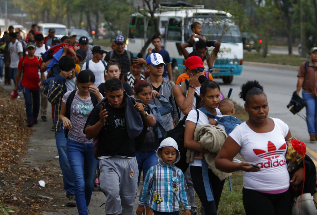 New Migrant Caravan Reportedly Coming From Honduras