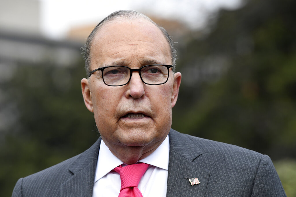 White House's Kudlow voices support for Fed's Powell, Herman Cain nomination