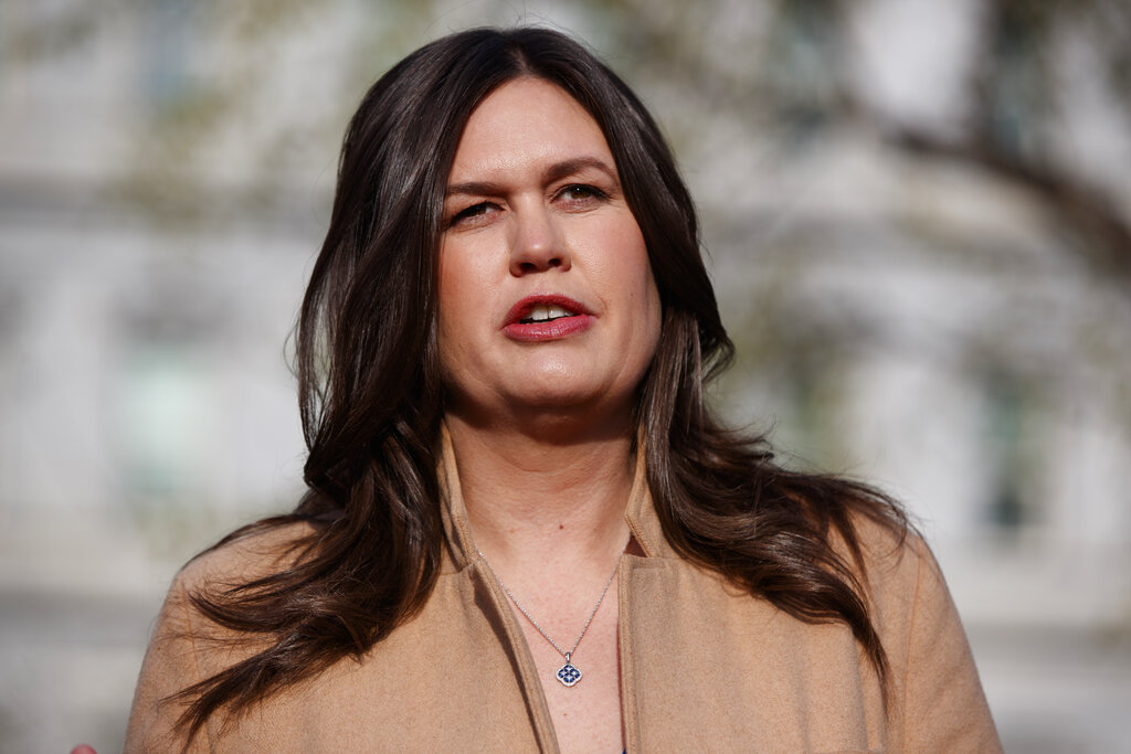 Sarah Sanders' 'slip of the tongue' moment in the Mueller report