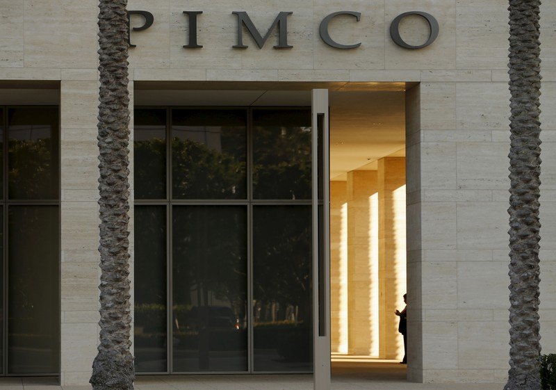 FILE PHOTO: The offices of PIMCO are shown in Newport Beach