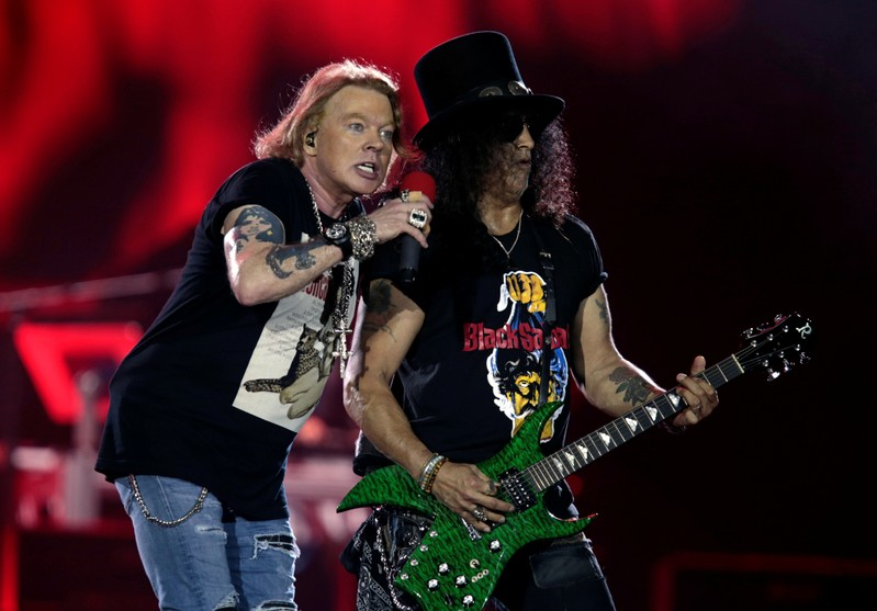 Guns N' Roses suing over rose-style beer, alleging trademark infringement