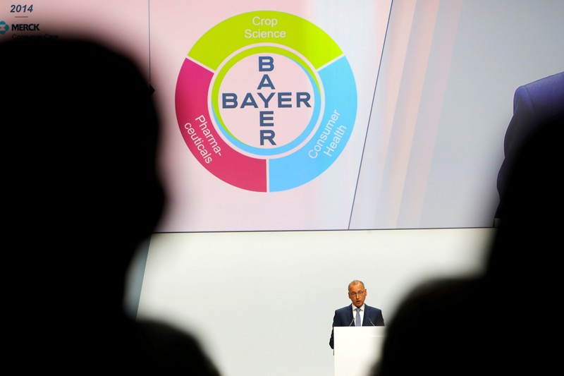 FILE PHOTO: German drug and crop chemical maker Bayer holds annual general meeting