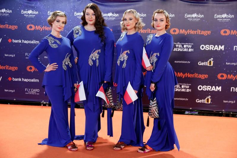 Eurovision 2019 Orange Carpet in Tel Aviv, Israel