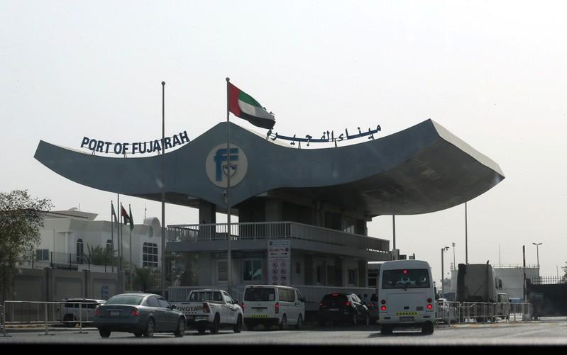 General view of the Port of Fujairah