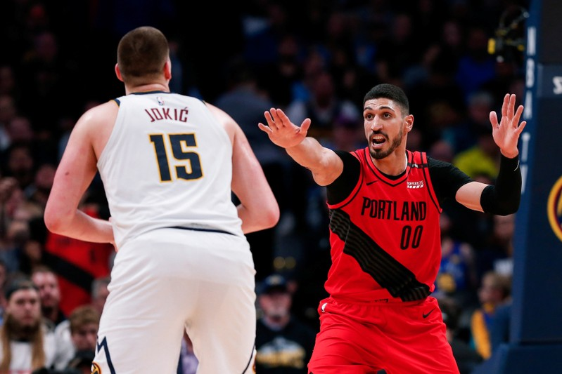 FILE PHOTO: NBA: Playoffs-Portland Trail Blazers at Denver Nuggets