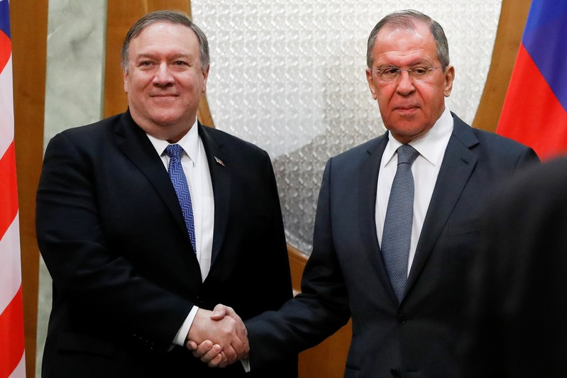 U.S. Secretary of State Mike Pompeo visits Russia