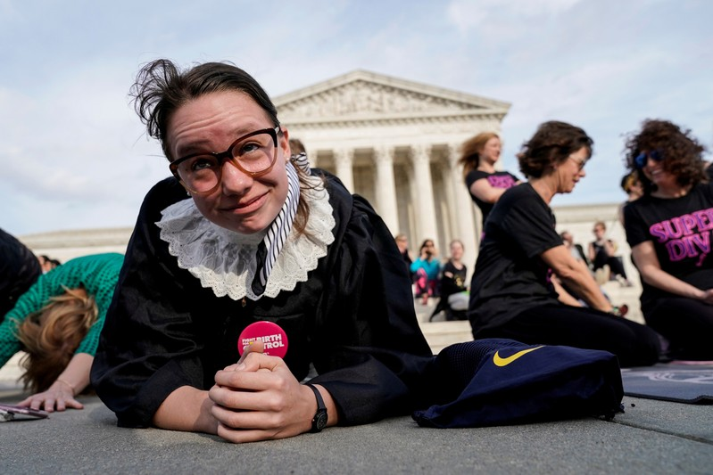 FILE PHOTO: Justice Ruth Bader Ginsburg gets 'best fight' MTV Movie award nod