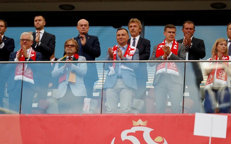 FILE PHOTO: International Friendly - Poland vs Lithuania