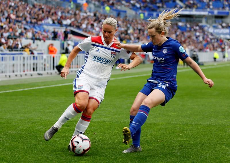 FILE PHOTO: Women's Champions League - Semi Final First Leg - Olympique Lyonnais v Chelsea