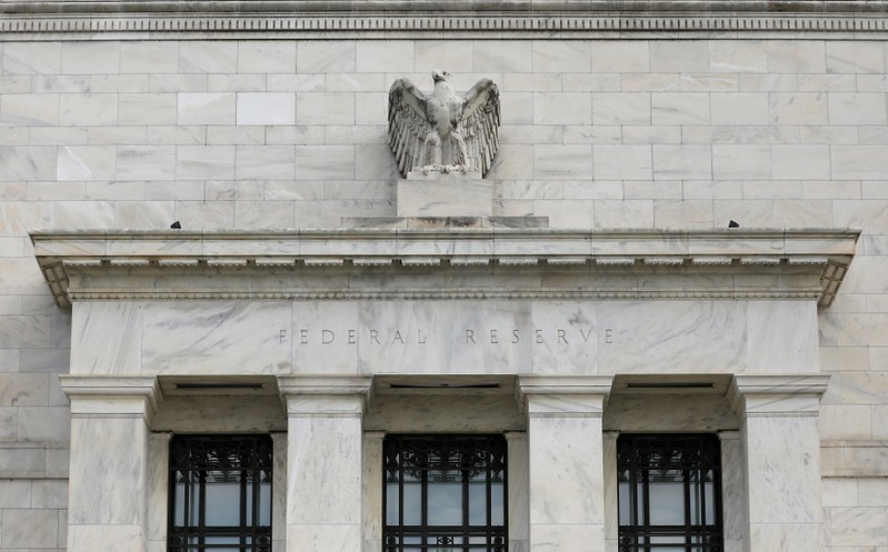 FILE PHOTO: FILE PHOTO: The Federal Reserve building is pictured in Washington, DC