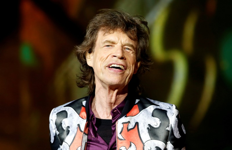 FILE PHOTO: Mick Jagger of the Rolling Stones performs during a concert of their