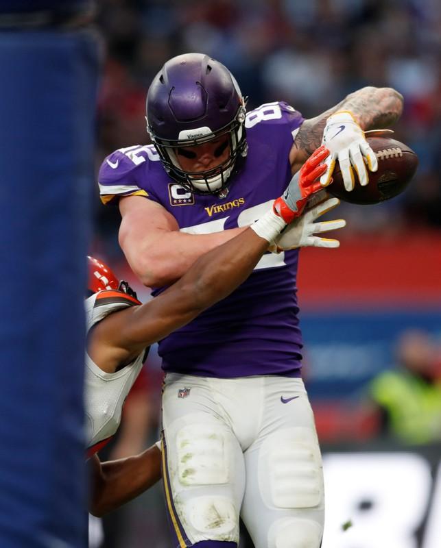 Minnesota Vikings vs Cleveland Browns - NFL International Series