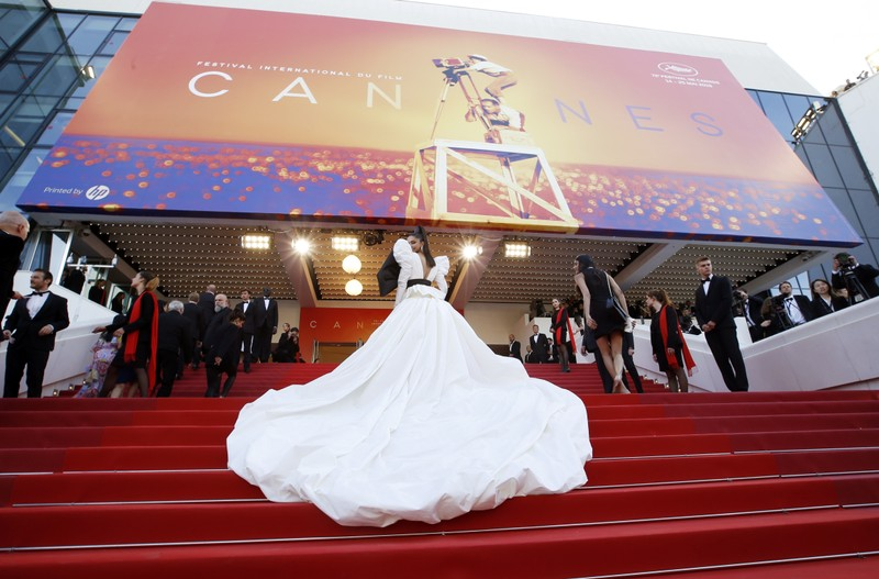 Cannes 2019: Deepika Padukone owns red carpet in lime tulle dress