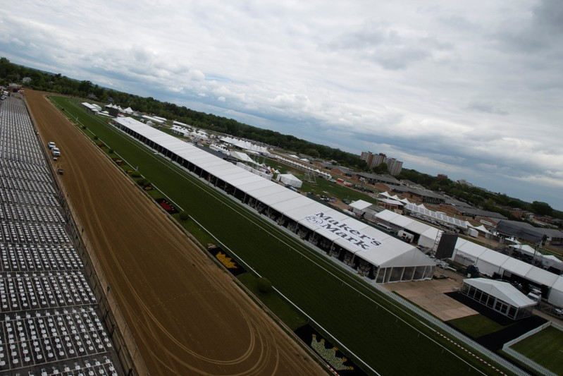 FILE PHOTO: Horse Racing: Preakness Scenes