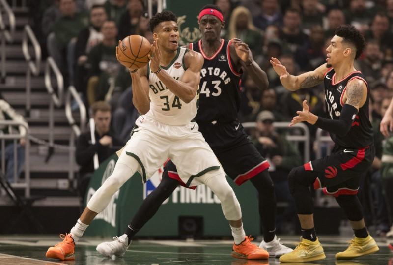 NBA: Playoffs-Toronto Raptors at Milwaukee Bucks