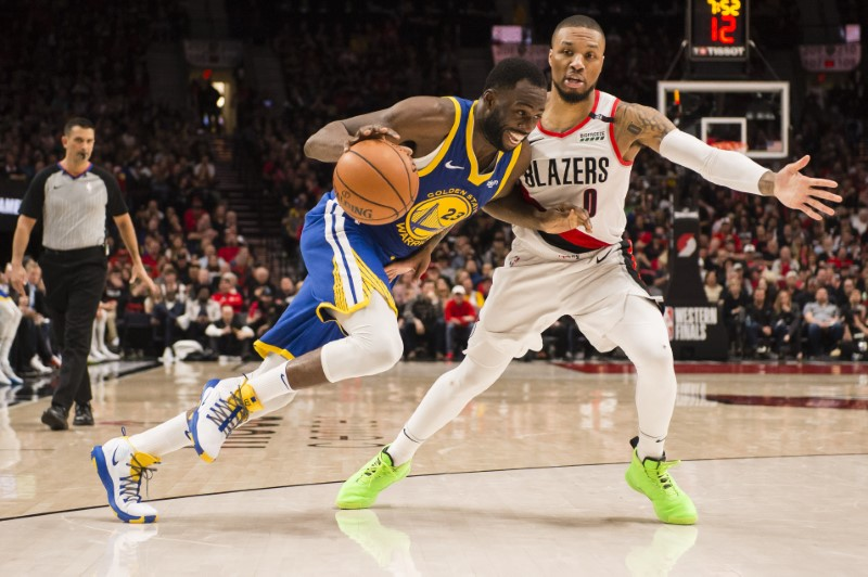 FILE PHOTO: NBA: Playoffs-Golden State Warriors at Portland Trail Blazers
