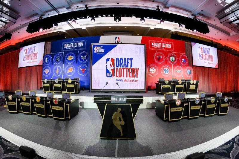 FILE PHOTO: NBA: NBA Draft Lottery
